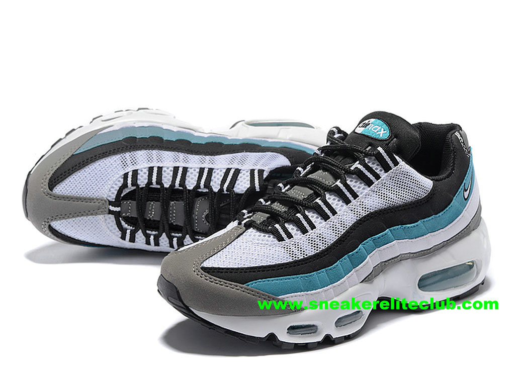 timeless design ebe63 1eead ... Nike Air Max 95 Women´s Price Cheap Running Shoes WhiteBlackBlue ...