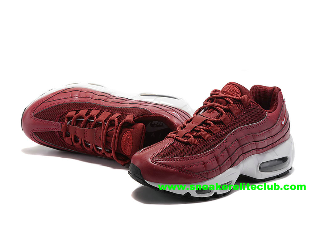 Chaussures De Running Nike Air Max 95 ID Femme Prix Pas Cher Rouge 307960_ID008
