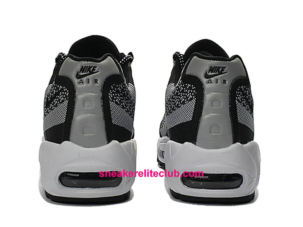promo code bcbbc 1898a ... Nike Air Max 95 Jacquard Price Cheap Men´s Running Shoes Black White  Grey 644793