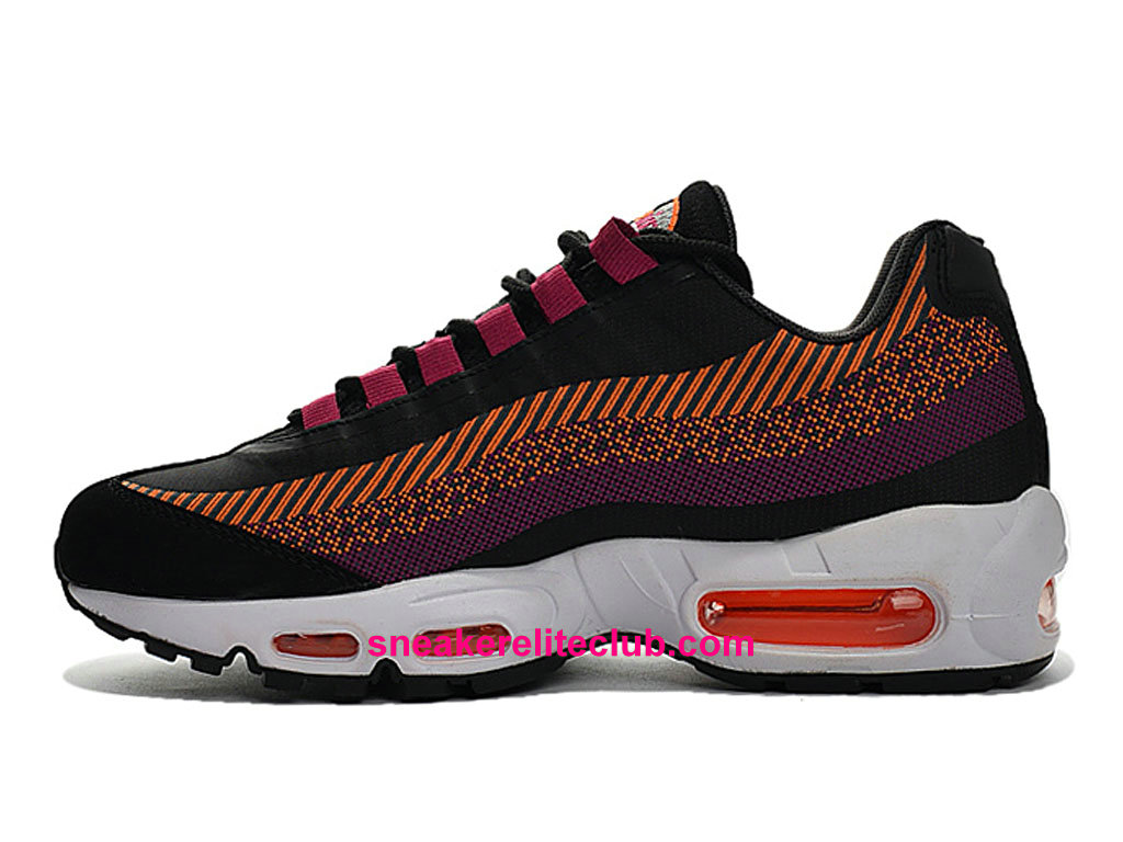 size 40 53156 17216 ... Nike Air Max 95 Jacquard Price Cheap Men´s Running Shoes Black Pink  Purple 644793 ...