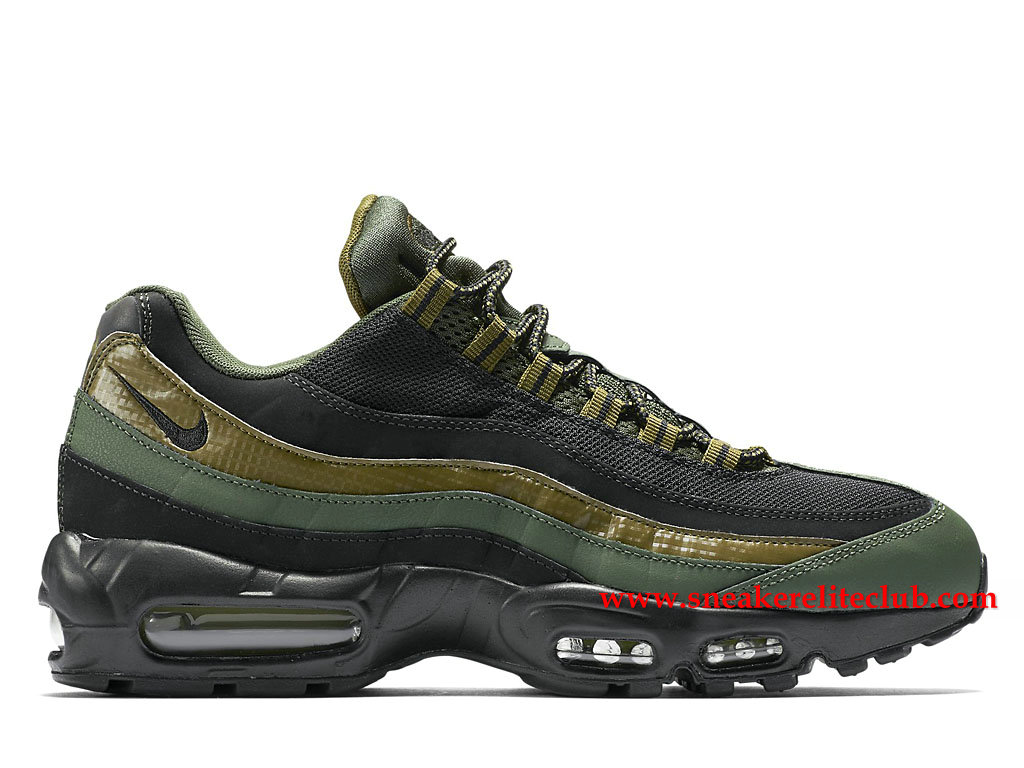 Chaussures De Running Nike Air Max 95 Prix Homme Pas Cher Olive/Vert 749766_300