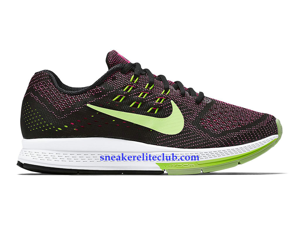 new product ee4d4 18e58 Nike Air Zoom Structure 18 GS Prix Cheap Women´s Running Shoes Black Purple