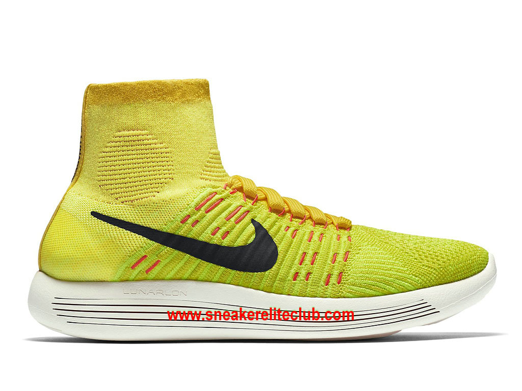 ae28080de7b Nike LunarEpic Flyknit Price Cheap Women´s Running Shoes Yellow Black  Orange 818677 700