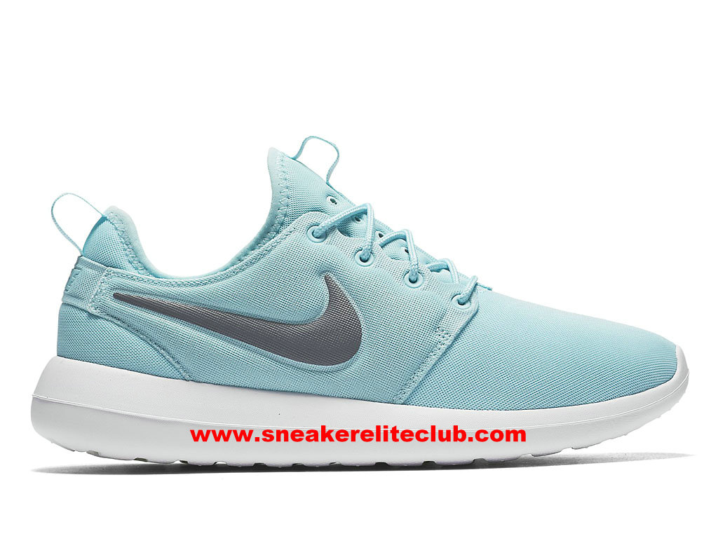 Chaussures Femme Nike Roshe Two Prix Pas Cher Bleu/Gris