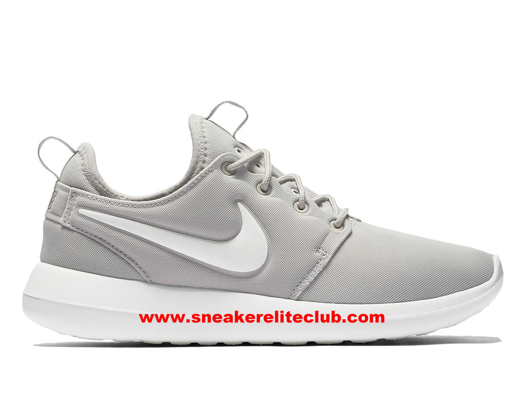 Chaussures Femme Nike Roshe Two Prix Pas Cher Gris/Blanc