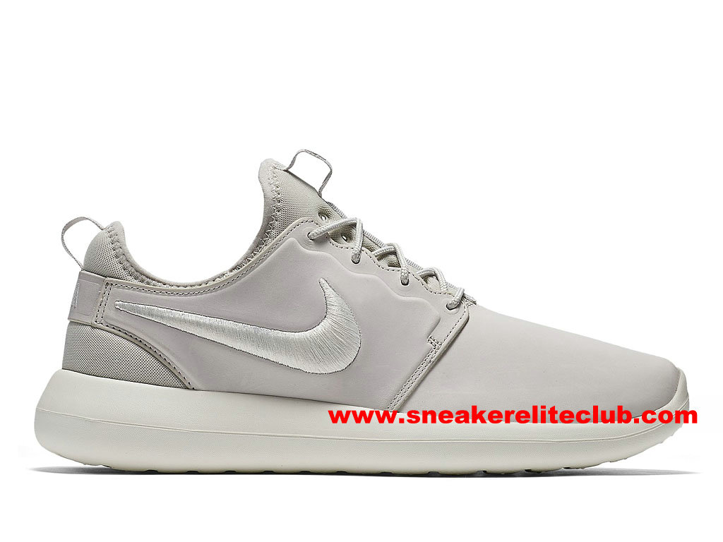 Chaussures Femme NikeLab Roshe Two Leather PRM Prix Pas Cher Blanc 876521_100