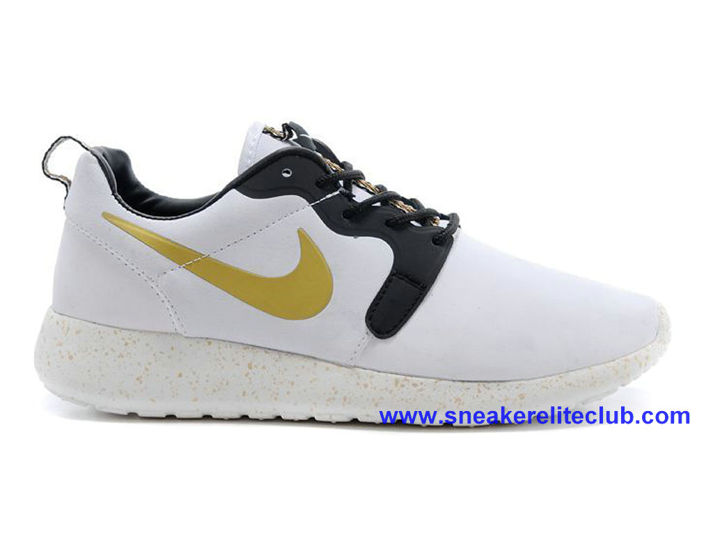 6700bed5dd20d Home → Women Club → Nike Roshe One Women → Nike Roshe One Cheap Shoes For  Womens White Black Gold 636220-ID2