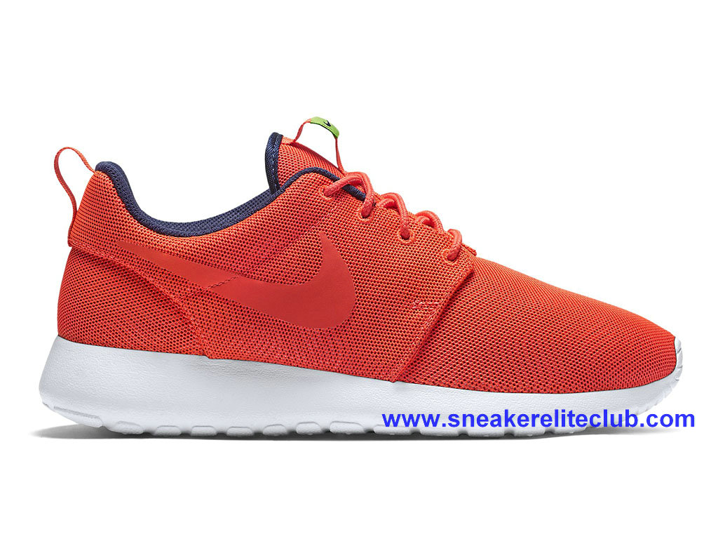 Chaussures Femme Pas Cher Nike Roshe One Moire Rouge 819961_661
