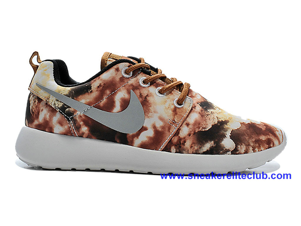 Chaussures Femme Pas Cher Nike Roshe One Print Camo/Gris 655206-I01