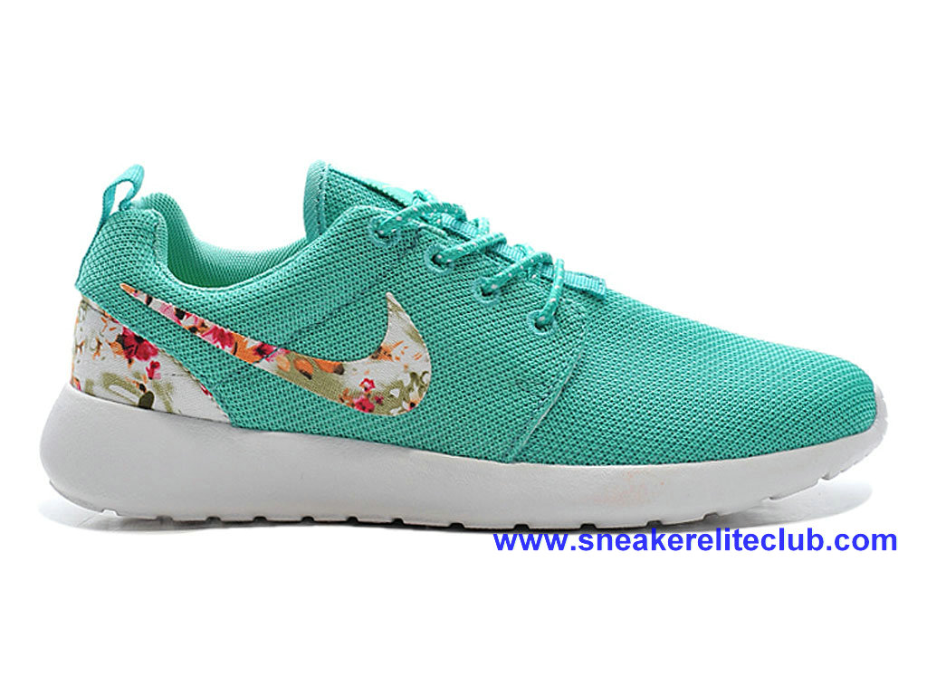4a7b2b91c2d7 Nike Roshe One Print Cheap Shoes For Womens Green White 599432-A005