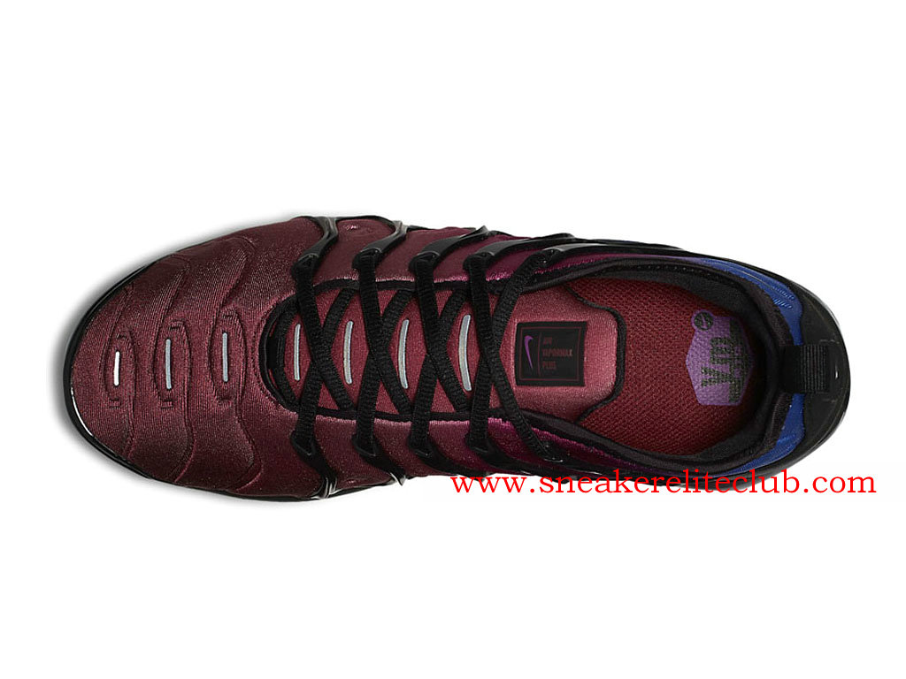 Chaussures Homme Nike Air VaporMax Plus Pas Cher Prix Black Team Red Violet AO4550_001