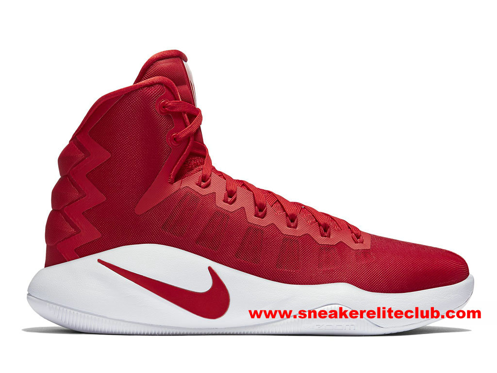 Chaussures Homme Nike Hyperdunk 2016 Team Prix Pas Cher University Red/White 844368_662
