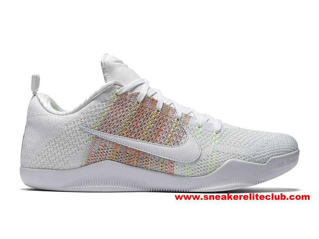 e3c1f32de47b Home → BasketBall Club → Nike Kobe 10 → Men´s Nike Kobe 11 Elite Low 4KB  Price Cheap Shoes White Multi Color 824463 199