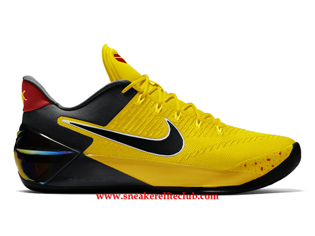 Pas Cher Prix Nike dBruce Homme Kobe 852425 Basketball A Lee Chaussures Noirjaune a400 oWrdxBQCeE