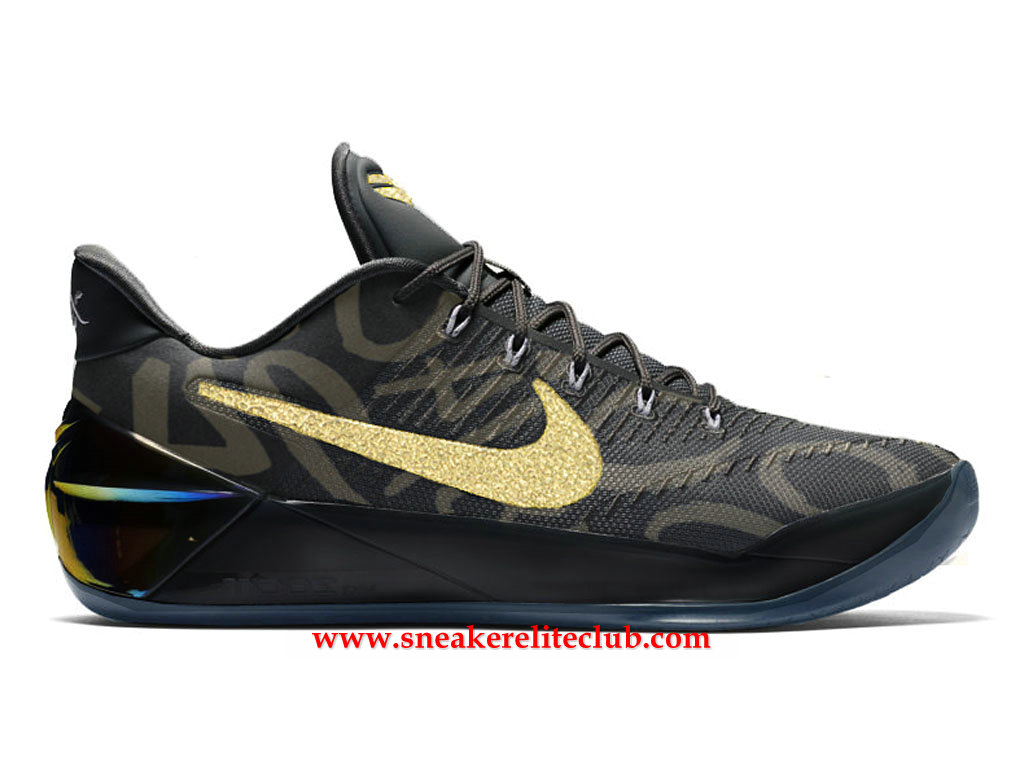 Chaussures Homme Nike Kobe A.D. Mamba Day BasketBall Prix BasketBall Pas Cher Noir/Or 852425_A800