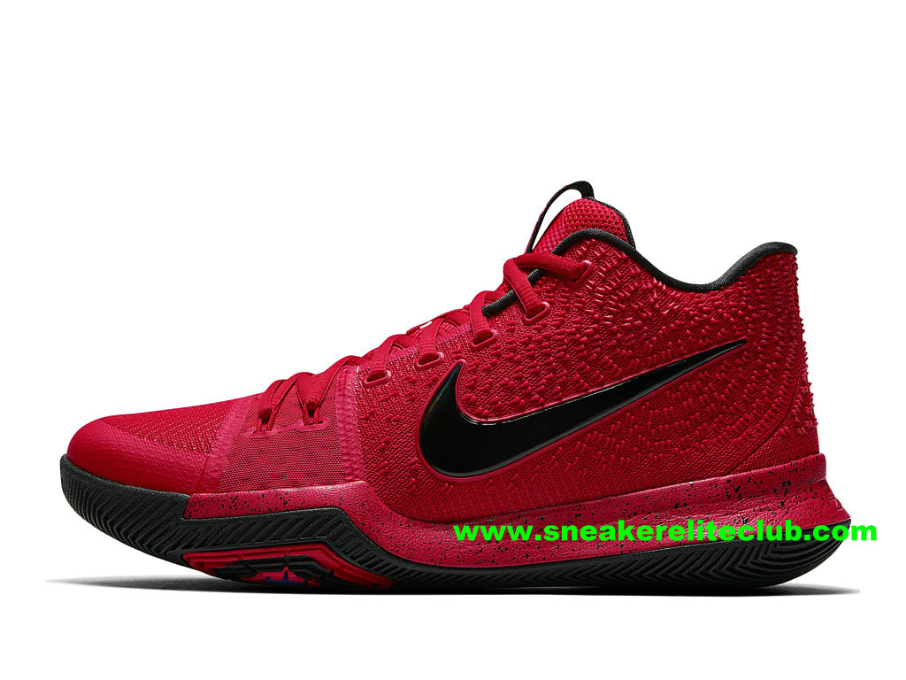 Chaussures Homme Nike Kyrie 3 BasketBall Prix Pas Cher University Red 852395_600