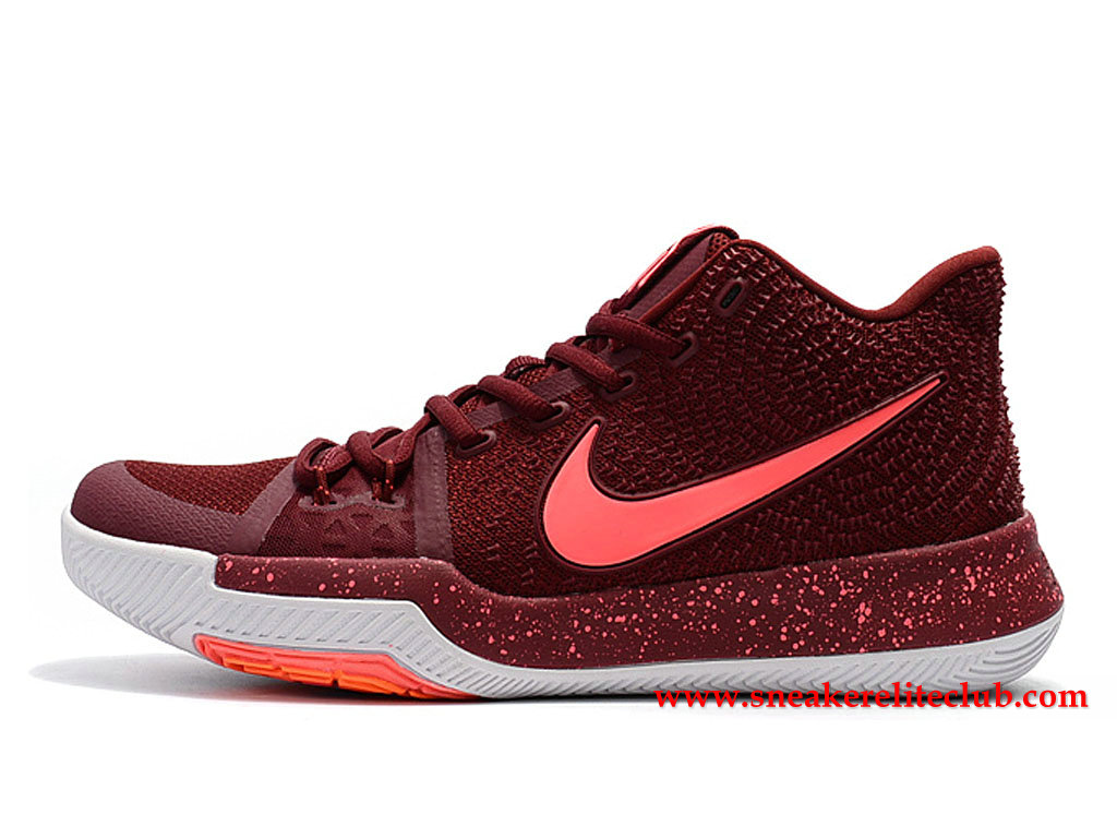 Chaussures Homme Nike Kyrie 3 Hot Punch BasketBall Prix Pas Cher Rouge/Rose 852395_681