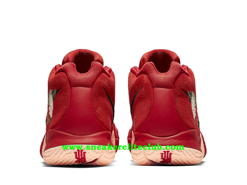 Chaussures Homme Nike Kyrie 4 Chinese New Year Prix Pas Cher Rouge 943807_600