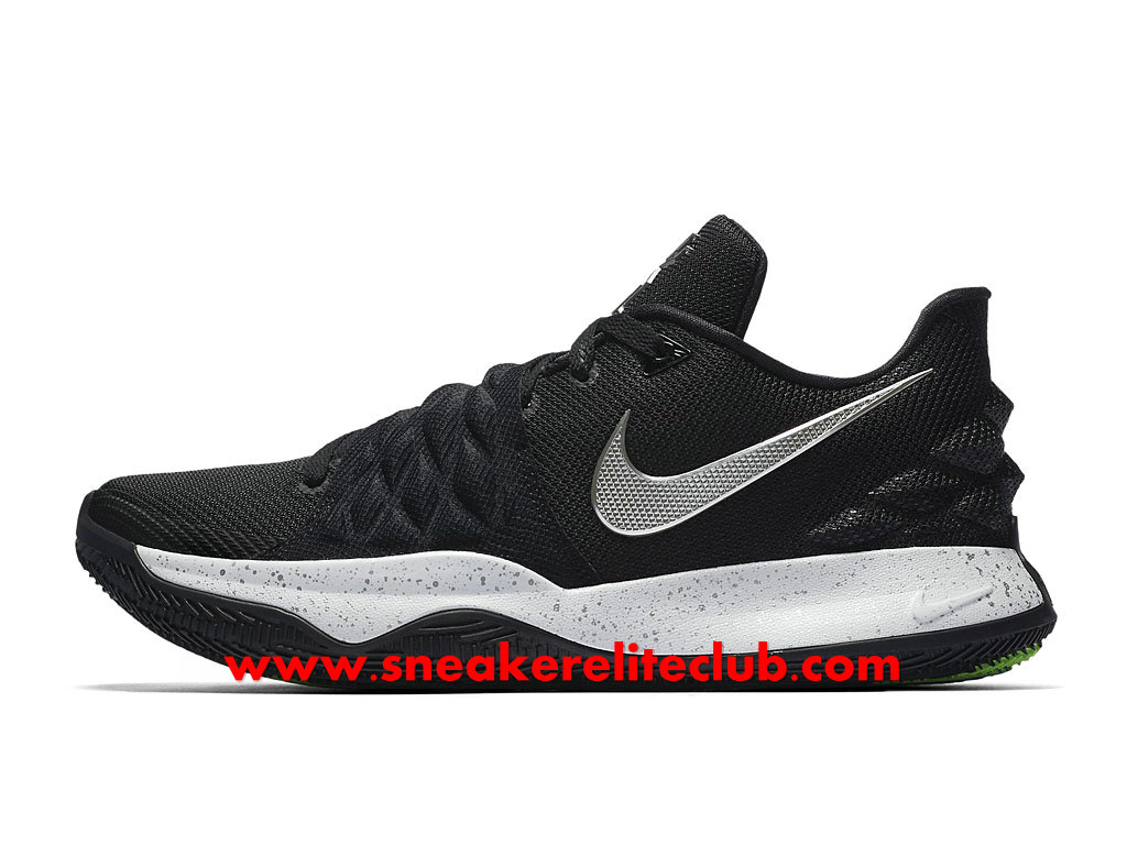 Chaussures Homme Nike Kyrie 4 Low Prix Pas Cher Noir/Blanc AO8979_003