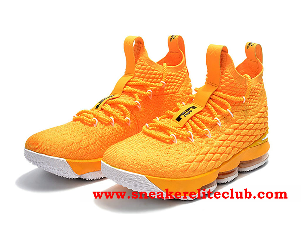 buy online ec701 f02e9 Shoes Men´s Nike Lebron 15 Cheap Price Yellow 897648_ID004