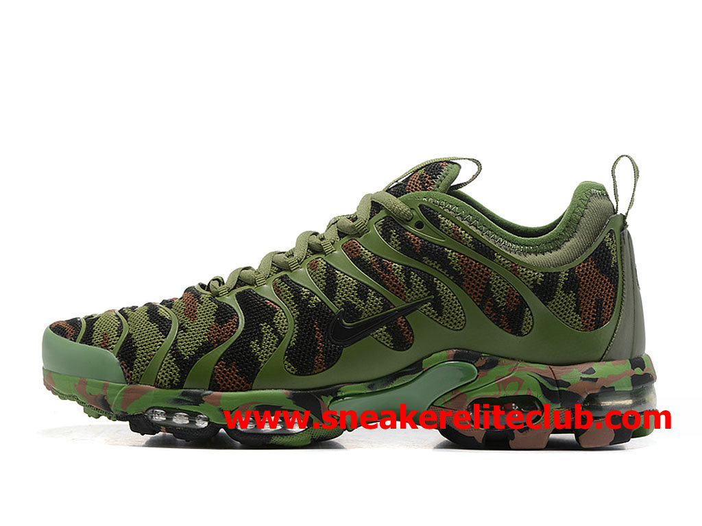 Chaussures Nike Air Max Plus TN Ultra Homme Pas Cher Prix Olive Green