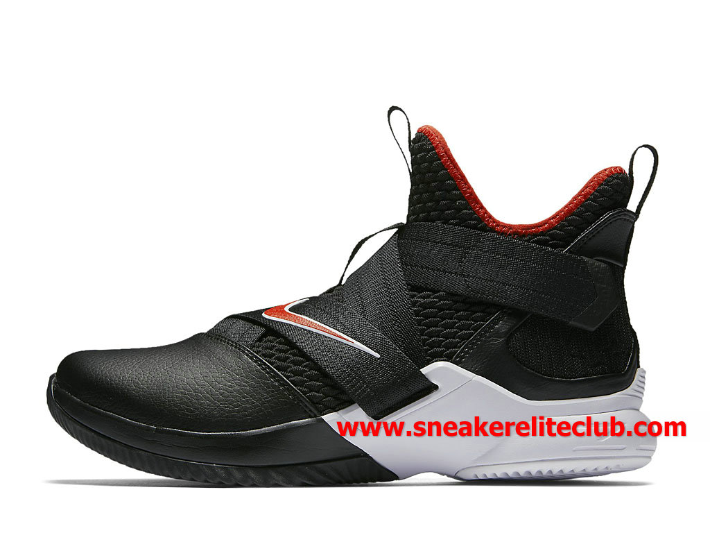 0f1678263e0 Shoes Nike Lebron Soldier XII 12 Men´s Cheap Price Black Red White  AO2609 001