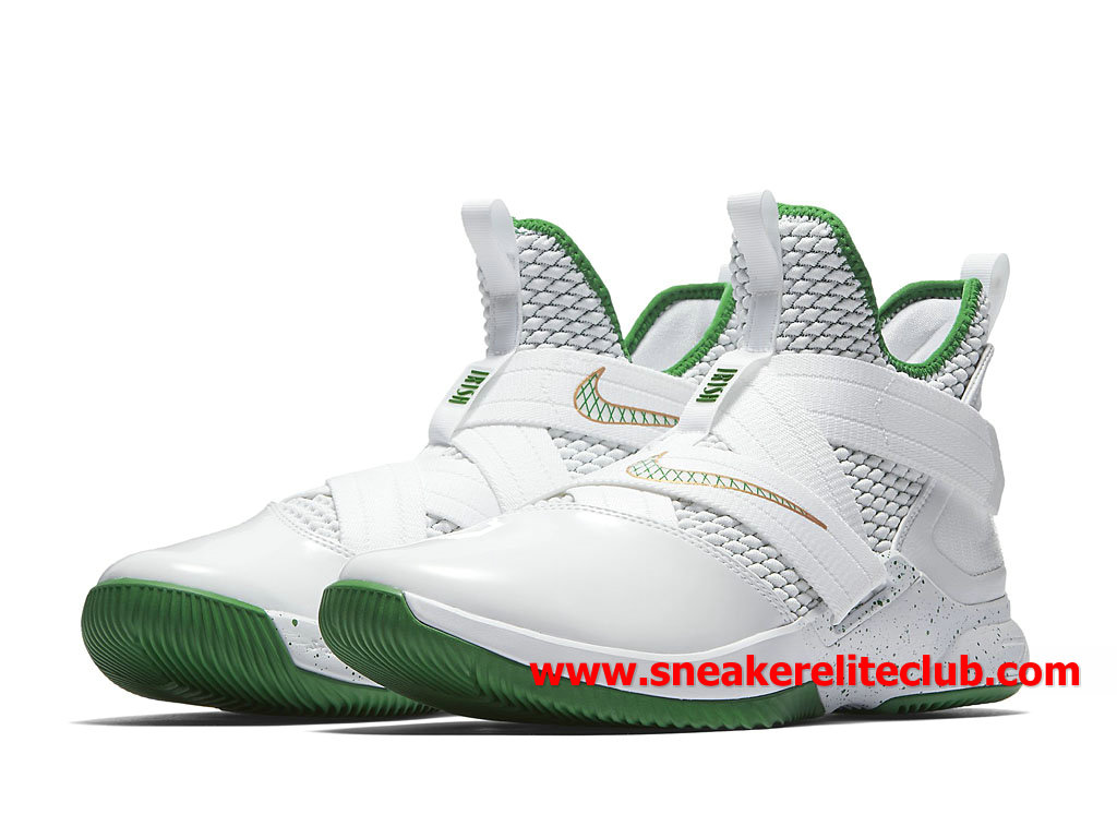 Special For Chaussure Nouveau vert rouge nike lebron 12 soldier 12 lebron 61448d