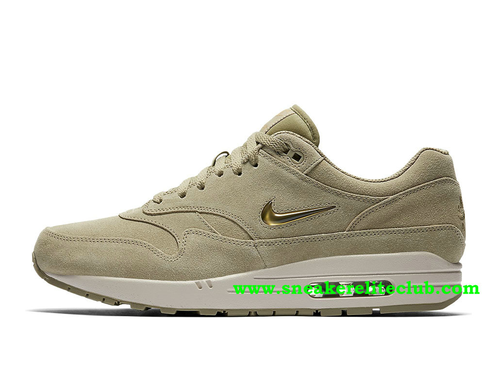 Chaussures Running Homme Nike Air Max 1 Prix Pas Cher Neutral Olive/Metallic Gold/Desert 918354_201