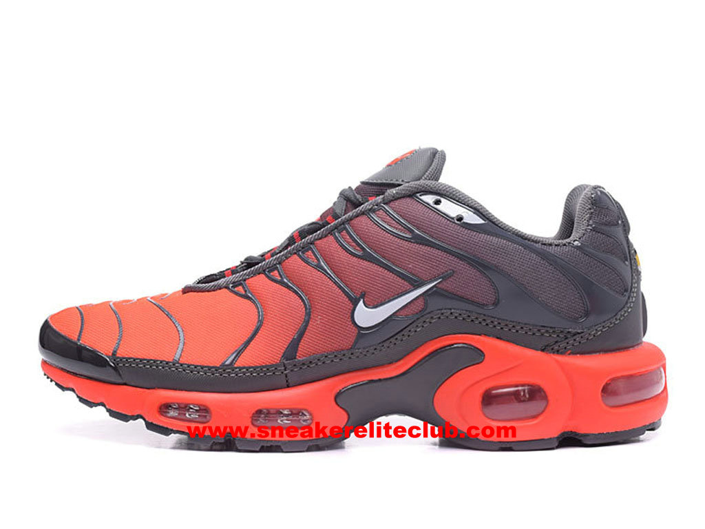 sports shoes 418cd 3f46b Home → Men´s Club → Nike TN Requin → Men´s Running Shoes Nike Air Max Plus  TN Price Cheap Orange Black Grey