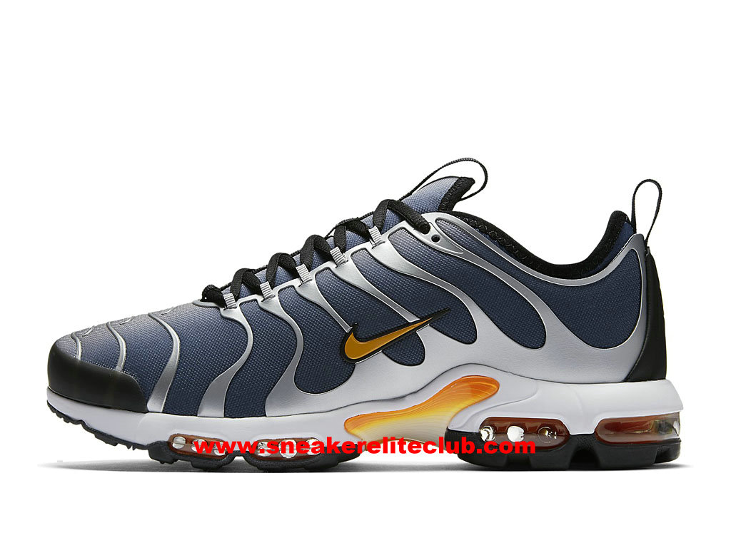 Chaussures Running Homme Nike Air Max Plus TN Ultra Prix Pas Cher Blue Grey/Electric Green-Armory Navy 898015_401