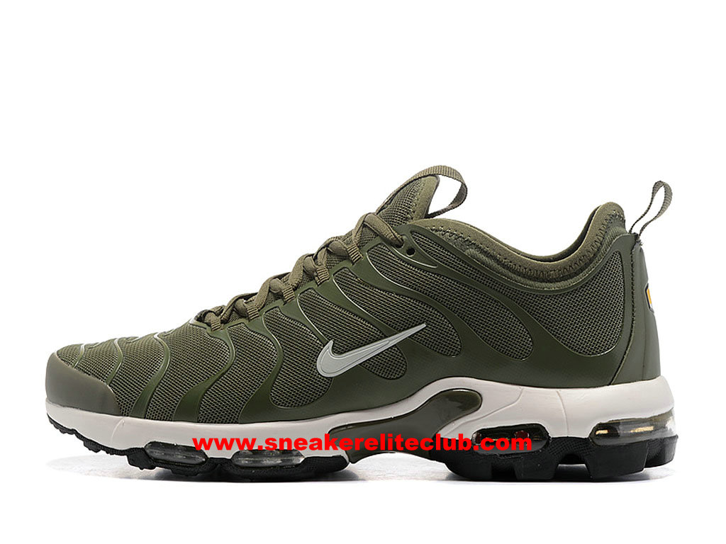 sale retailer 731bd be1f5 Men´s Running Shoes Nike Air Max Plus TN Ultra Price Cheap Olive Green White