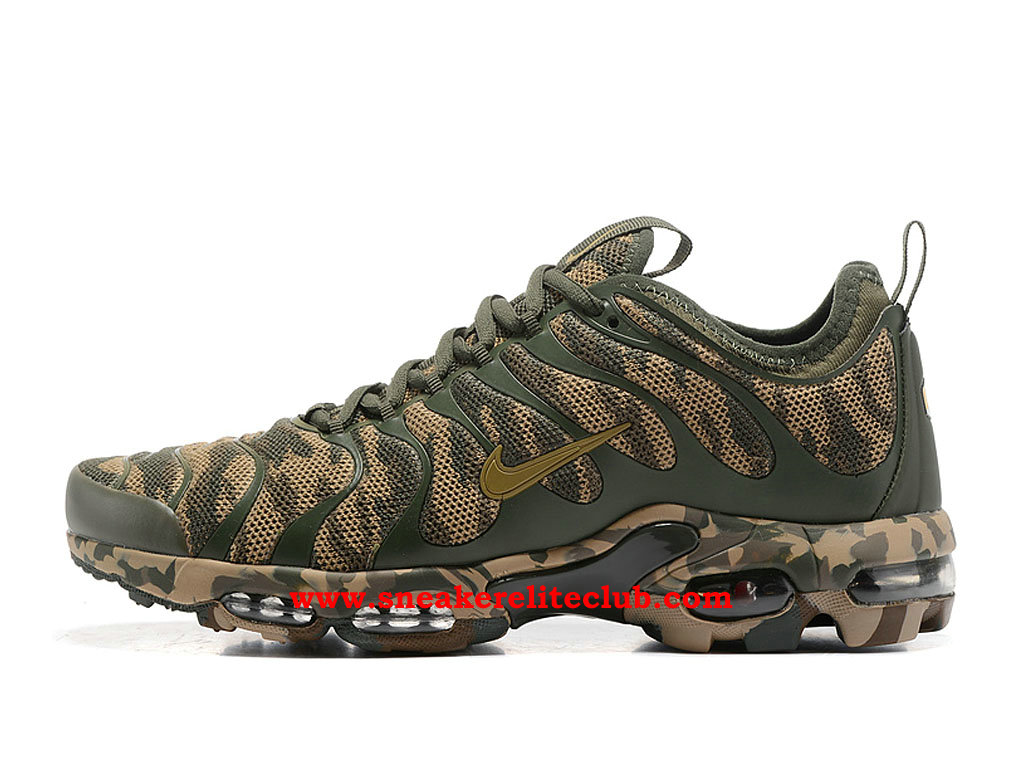 Chaussures Running Nike Air Max Plus TN Femme Pas Cher Prix Olive Green Kakhi