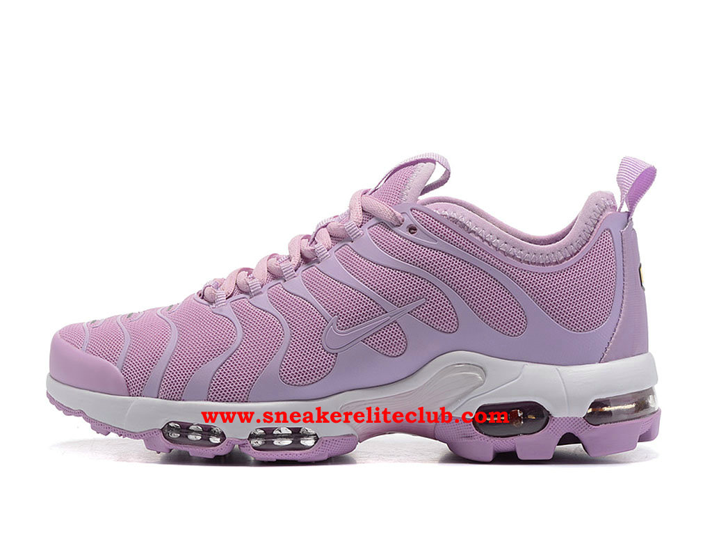Chaussures Running Nike Air Max Plus TN Ultra Femme Pas Cher Prix Pourpre/Blanc