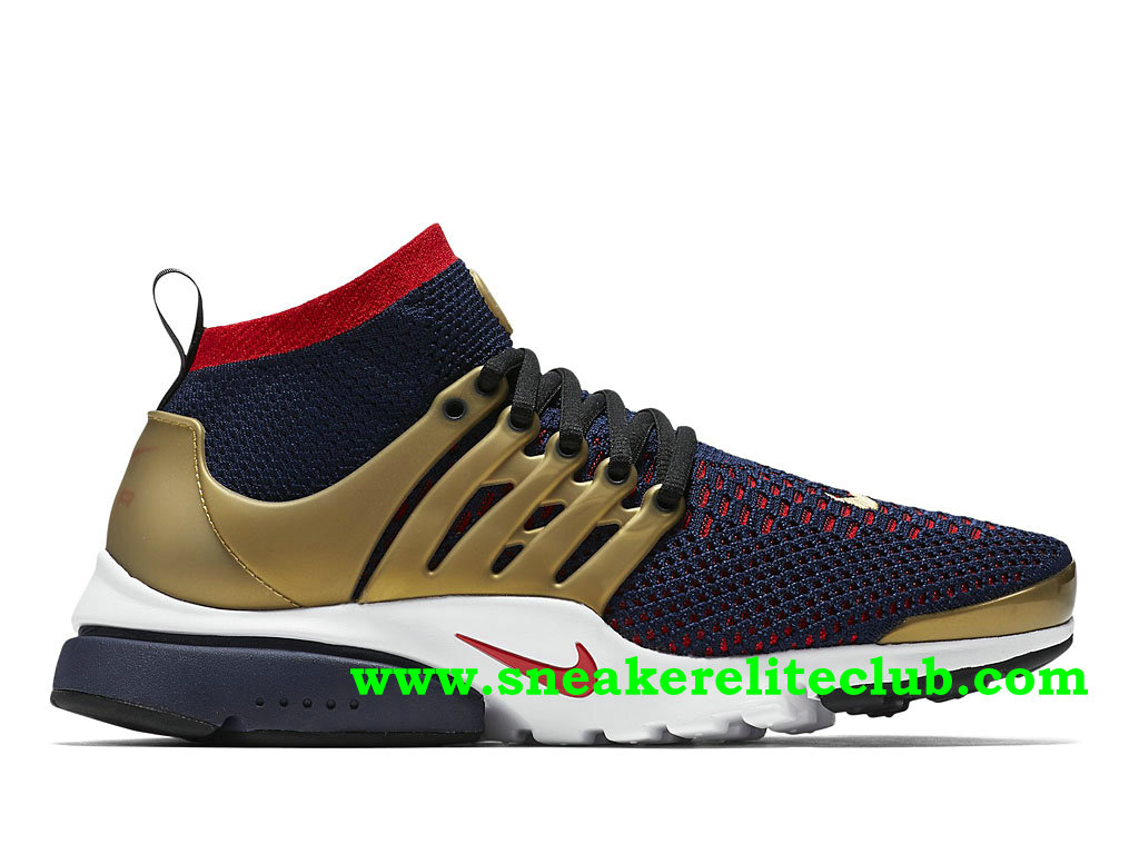 new styles aacd6 37004 Running Shoes Nike Air Presto Flyknit Ultra Men´s Price Cheap Gold Blue