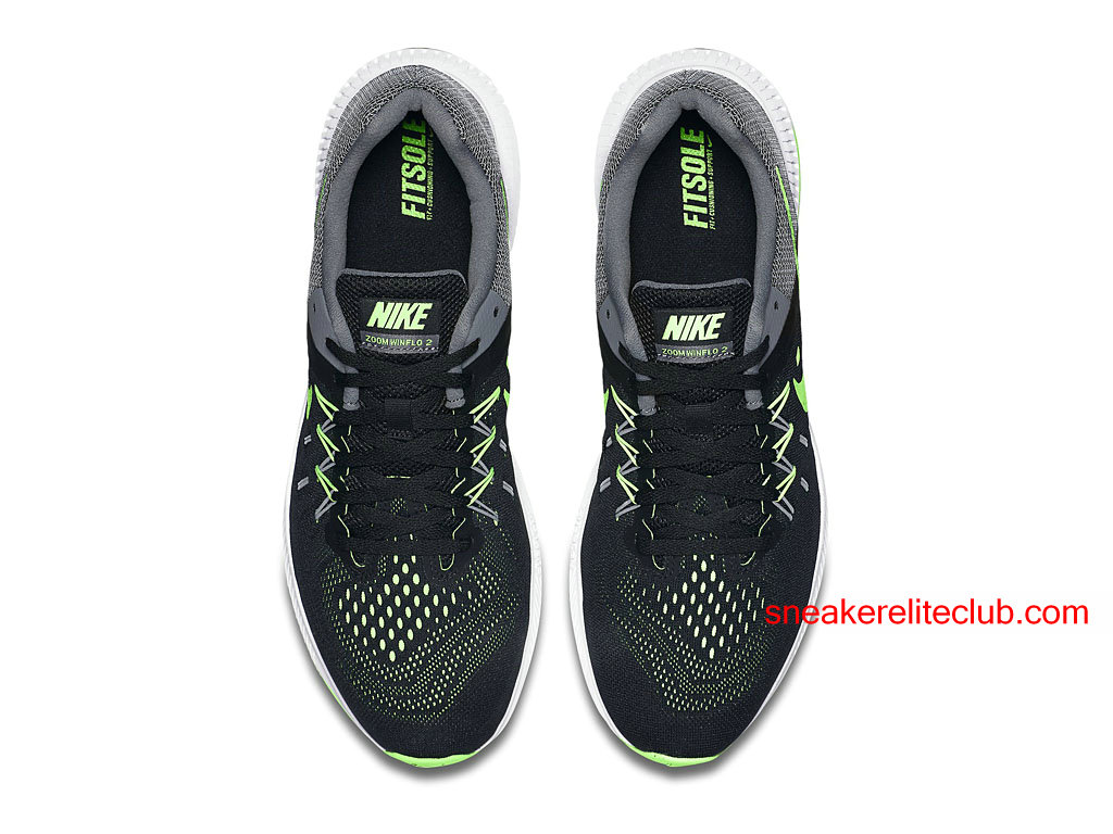 huge selection of ccc54 7c65a ... Nike Zoom Winflo 2 Price Cheap Running Shoes For Men´s Black Green ...