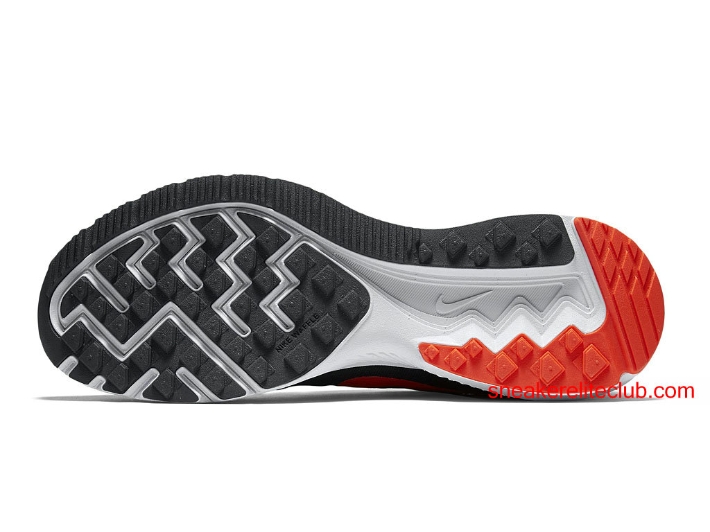official photos 7fe3f 7bed1 ... Chaussures Running Nike Zoom Winflo 2 Prix Pas Cher Pour Homme  Rouge Noir ...