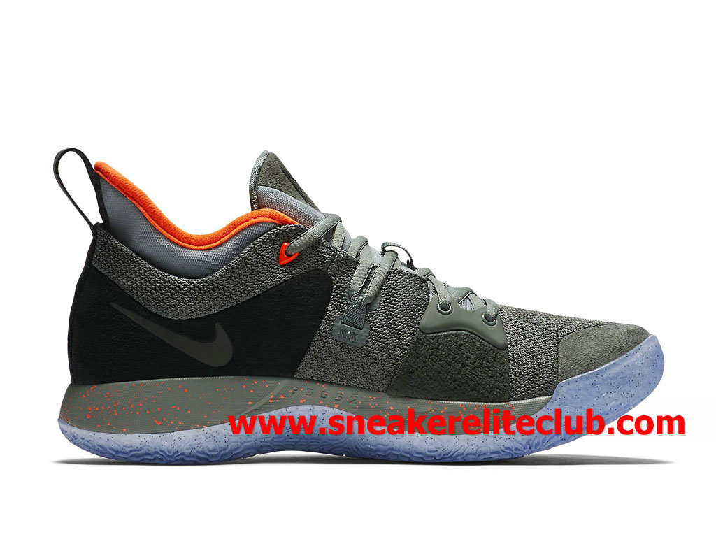 brand new 577e8 29fdf ... Homme Nike PG 2 Chaussures Pas Cher Prix Olive Noir Rouge AO1757 300 ...