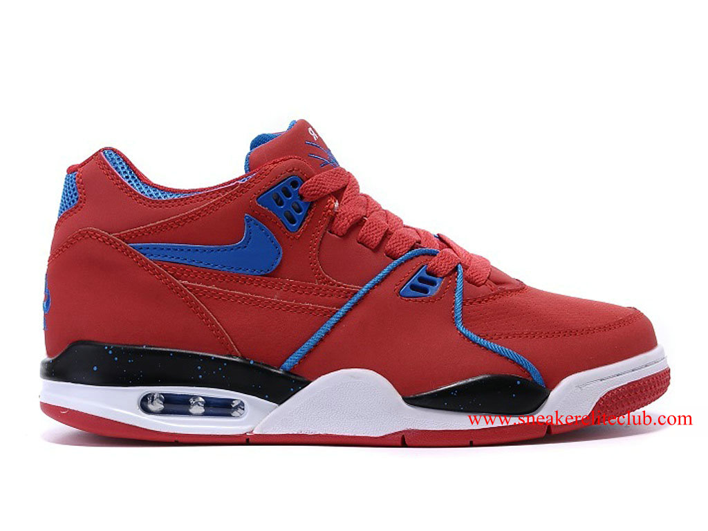 Nike Air Flight 89 Homme Pas Cher University Red Game Royal 306252-602