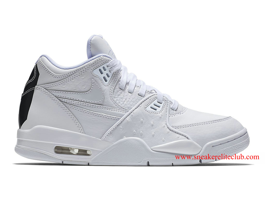 Nike Air Flight 89 Leather Homme Pas Cher Blanc 804605-100