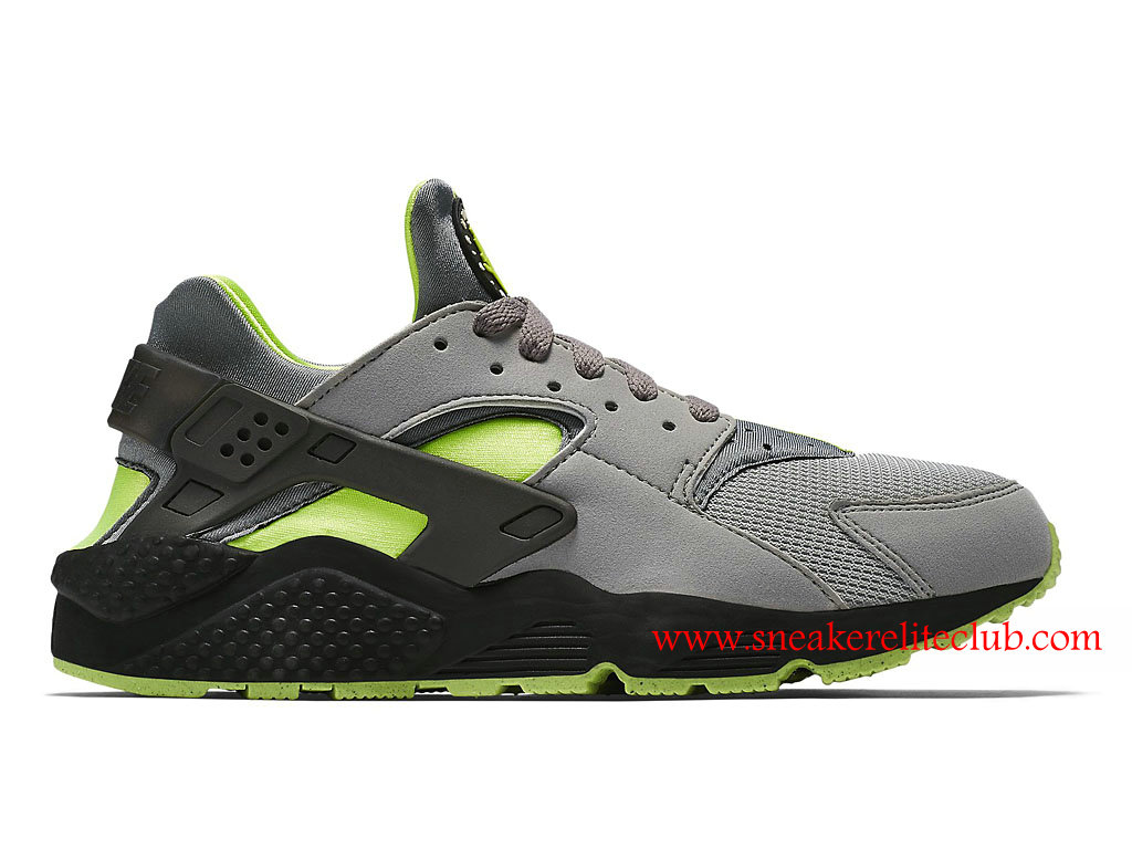 reputable site cb3ea 3711f Nike Air Huarache Men´s Shoes Gray Black Green ...