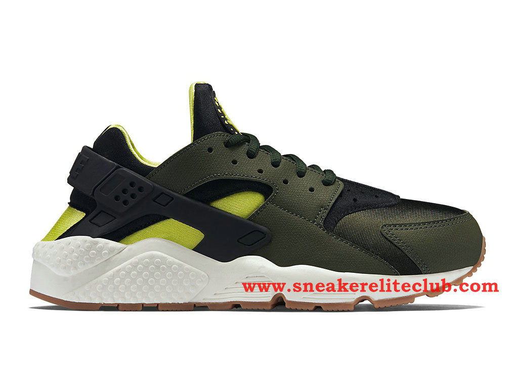 nike air huarache gs women s olive black green 634835 300. Black Bedroom Furniture Sets. Home Design Ideas
