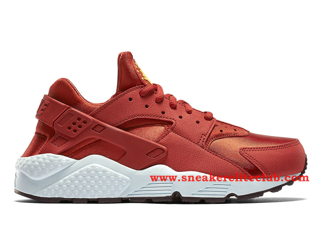 Nike Air Huarache Run GS Femme Rouge/Blanc 634835-600