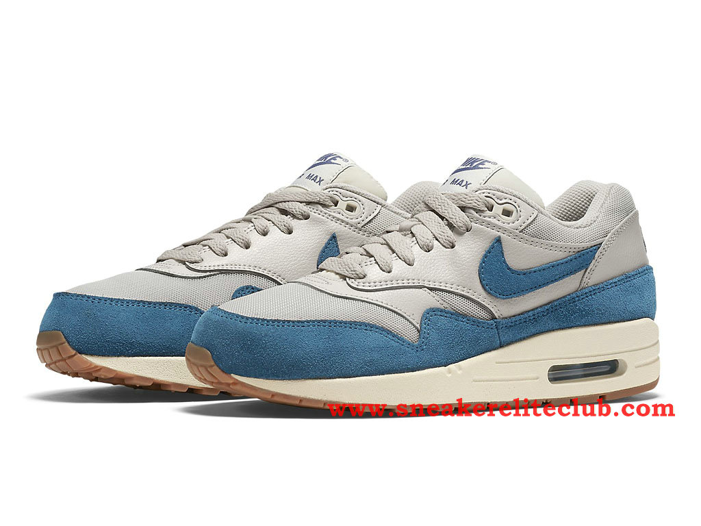nike air max 1 gs chaussure pour femme fille bleu beige 599820 019 1512261453 chaussure nike. Black Bedroom Furniture Sets. Home Design Ideas