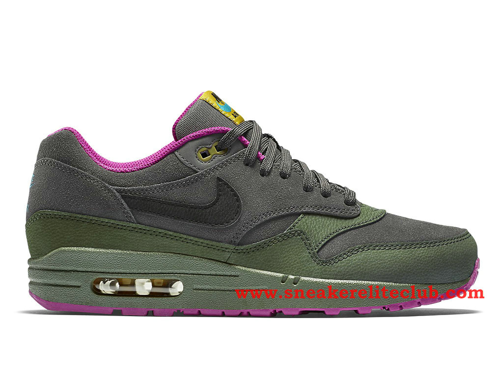 newest collection ff829 8834f Nike Air Max 1 GS Women´s Shoes OliveGreenPurple 654466008 .
