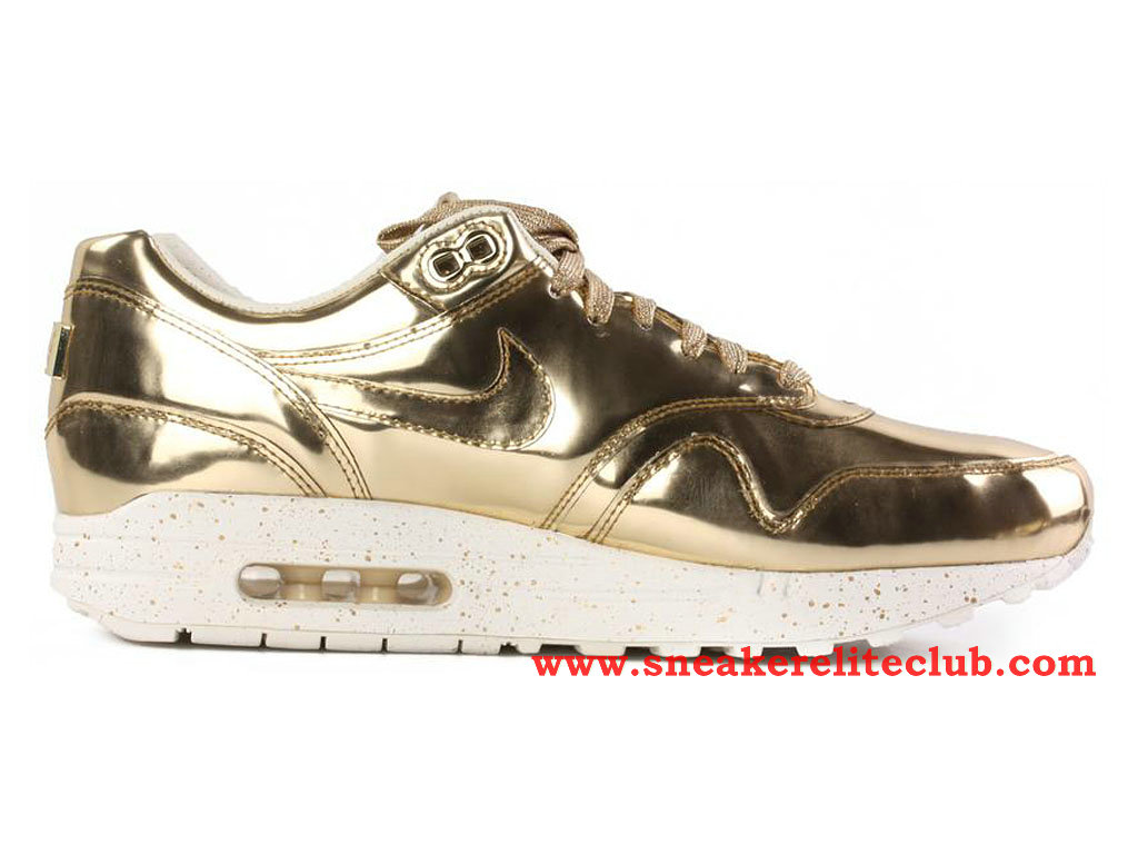 attractive price cheap price available Nike Air Max 1 GS SP Women´s Shoes Liquid Gold 635786-770 ...