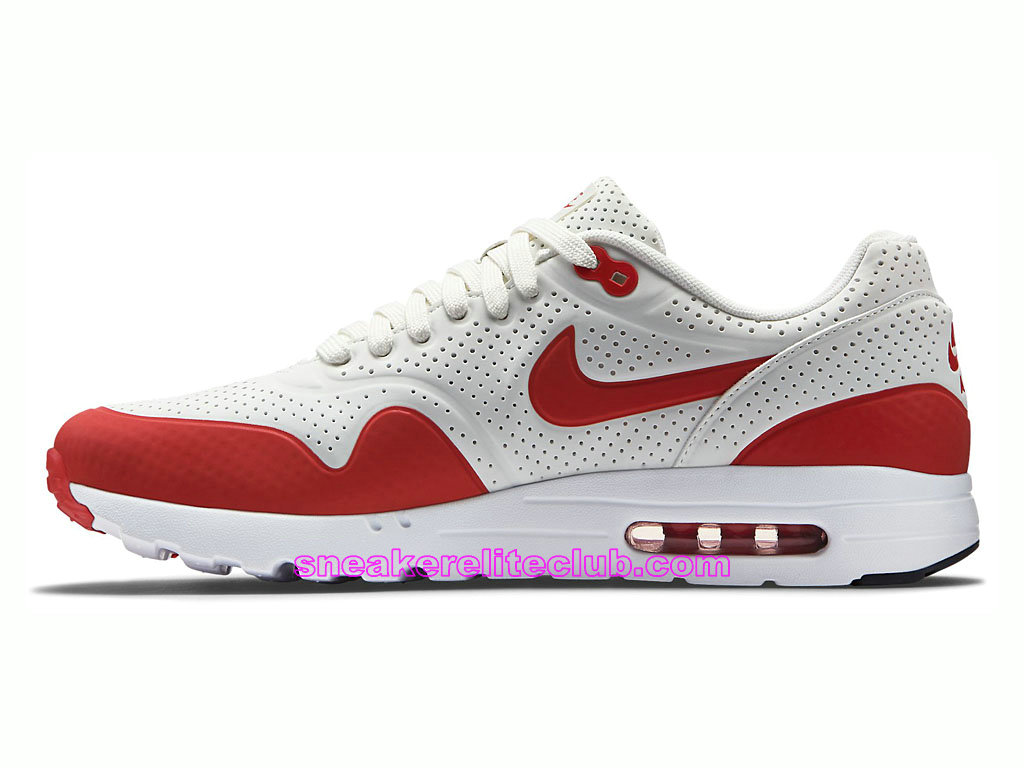 the latest 5e969 0cb97 ... Nike Air Max 1 Ultra Moire Prix Men´s Running Shoes White Red 705297-  ...