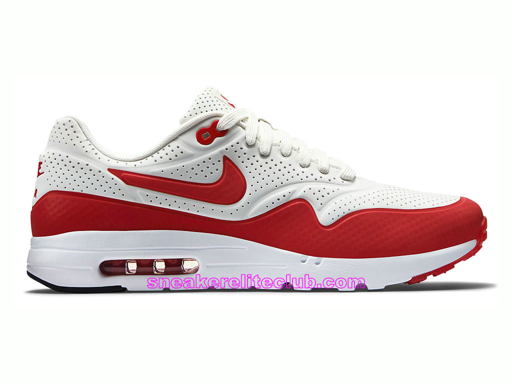 nike air max 1 ultra moire prix chaussures de running pour homme blanc rouge 705297 106 705297. Black Bedroom Furniture Sets. Home Design Ideas