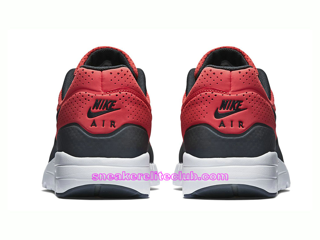 sneakers for cheap 5306e c6ec8 ... Nike Air Max 1 Ultra Moire Prix Men´s Running Shoes Red Black 705297-