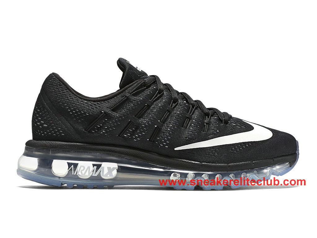 the latest 8ed8a e35ae Nike Air Max 2016 GS Women´s Cheap Running Shoes Black White 806772 001 ...