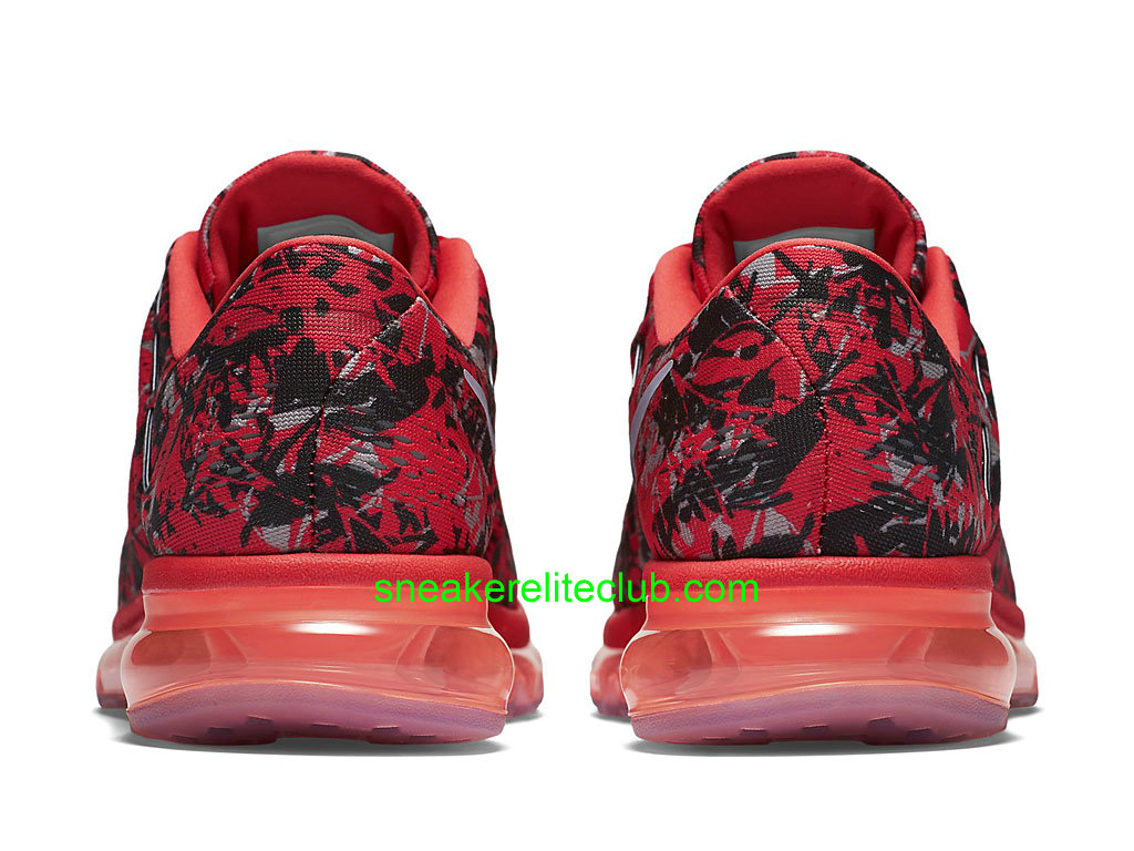 nike air max 360 ii 2 - Nike Air Max 2016 Print Prix Men��s Shoes Red/Grey/Black 818135_600 ...